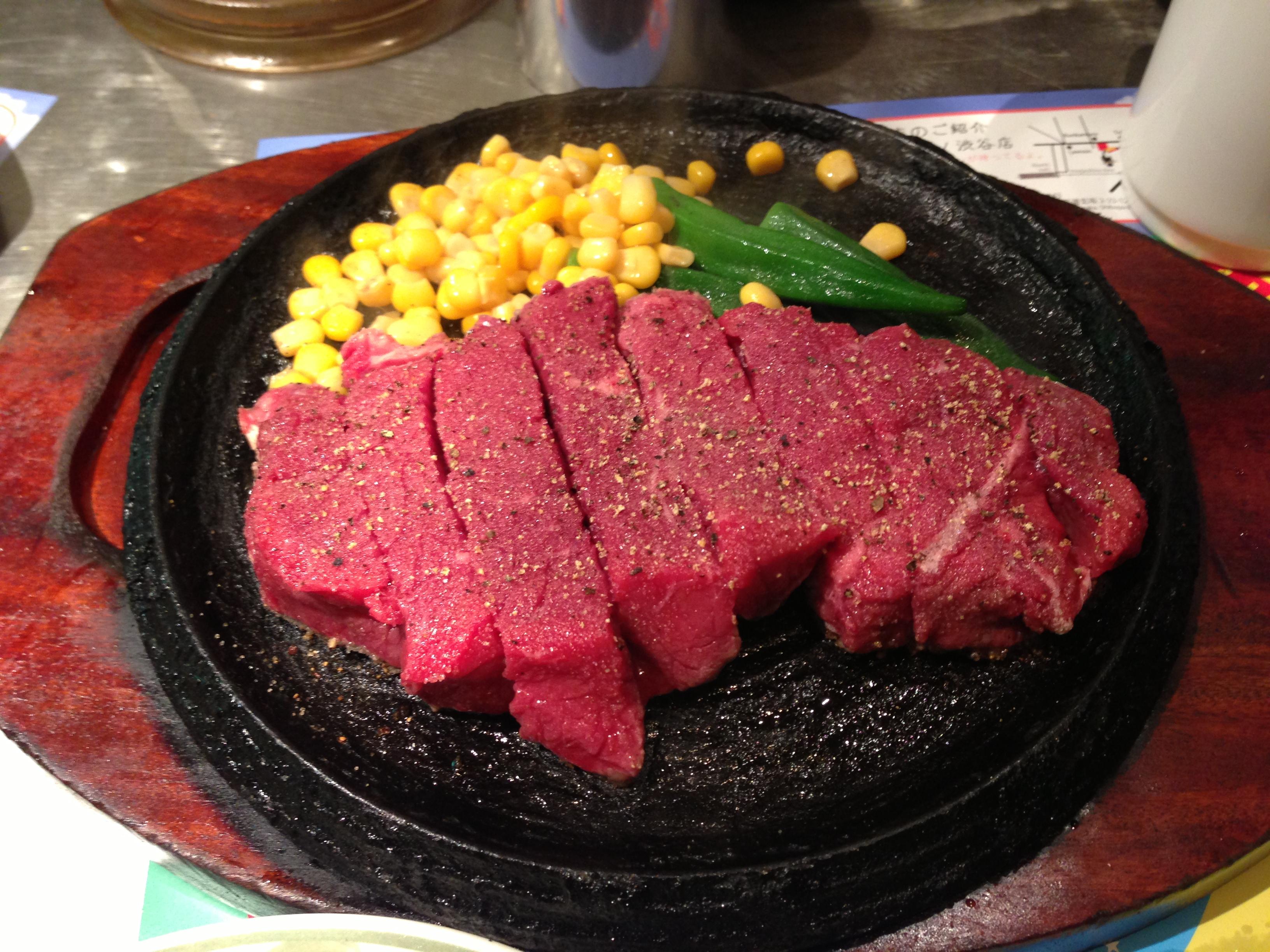 ブラジル料理屋のトゥッカーノ グリル&バーでステーキ!