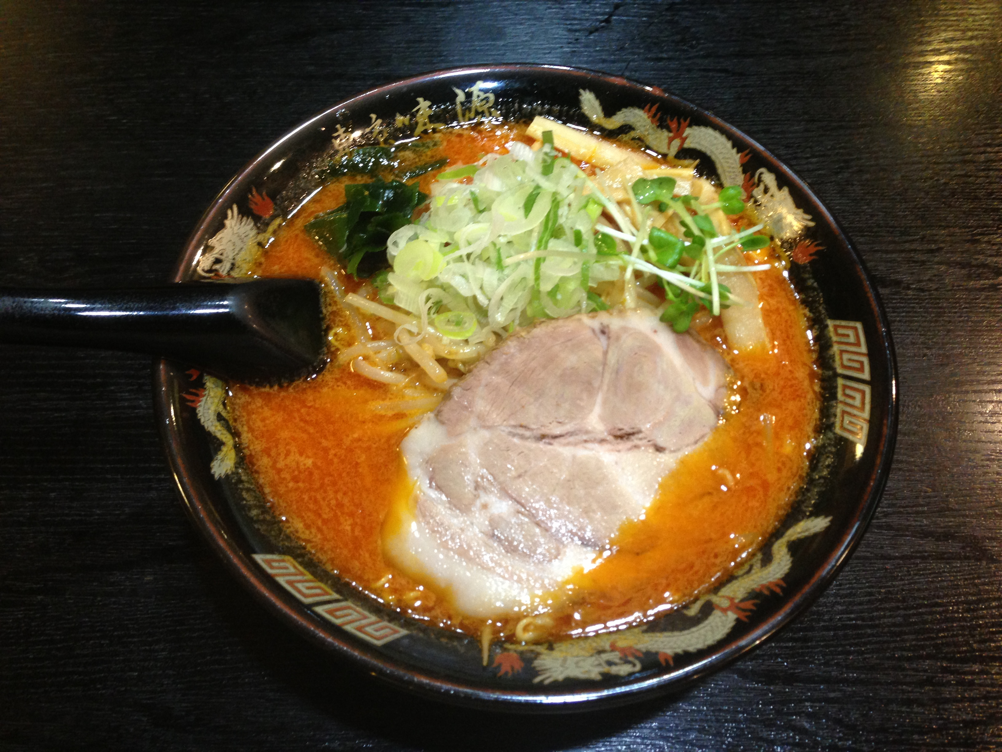 神田でおいしい味噌ラーメンといえば東京味源